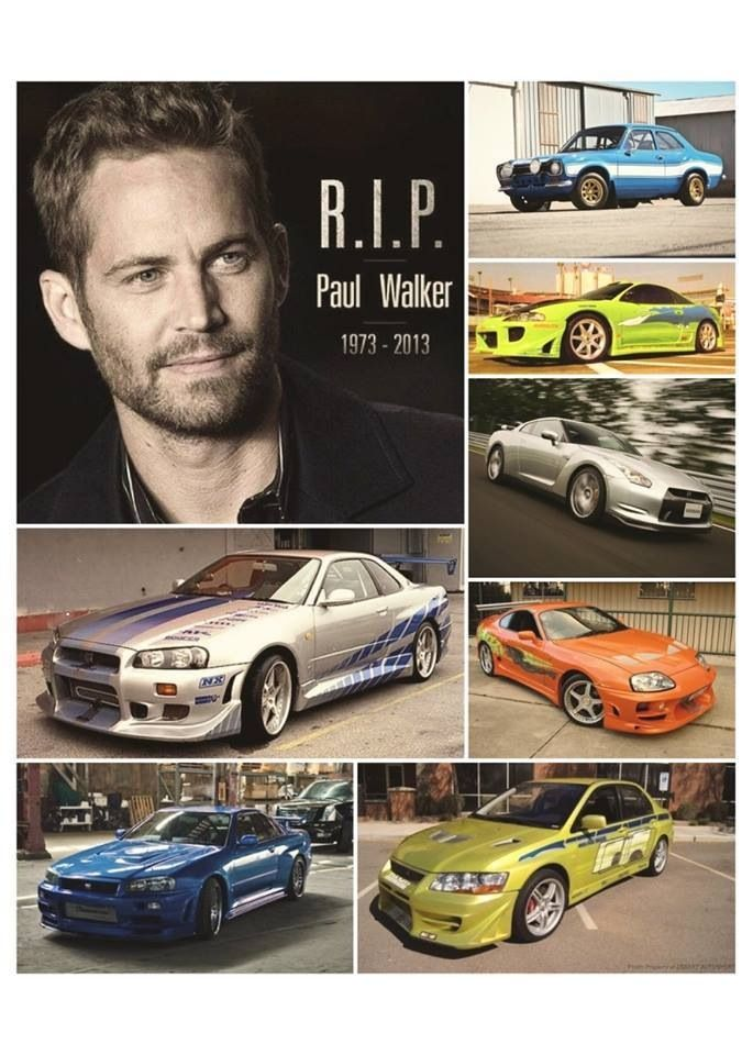 All Of Brian O Conner S Cars Throughout F Amp F Rest In Peace