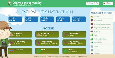 Trénování a procvičování matematických úloh pro děti na základních školách