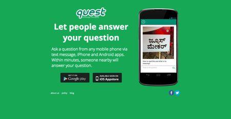 Quest App screenshot