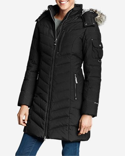 Women's Sun Valley Down Parka: Besides warmth, our parka provides extra weather protection with… #OutdoorClothing #Clothing #Apparel