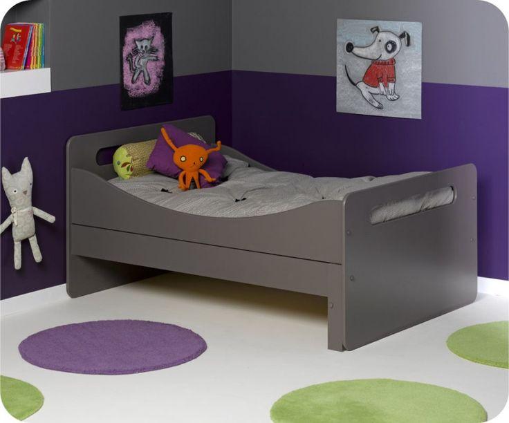 Mitwachsendes Kinderbett Eden taupe Kinderbetten Mitwachsende Kinderbetten
