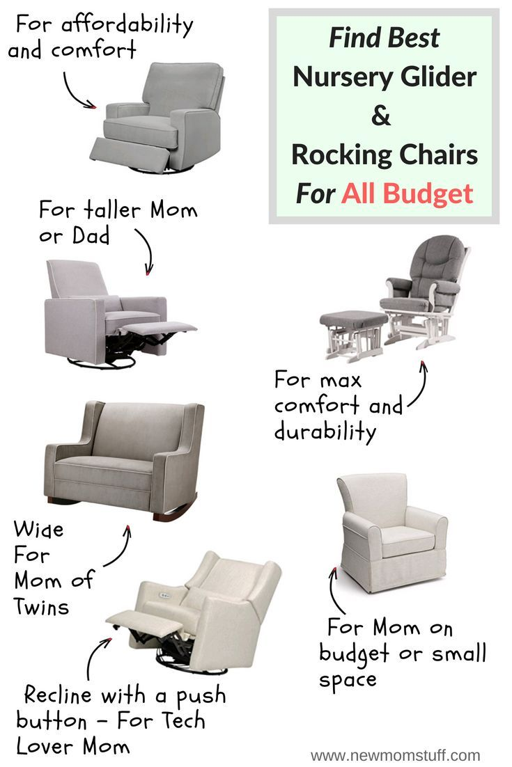 Tfeeding Chair And Nursery Glider
