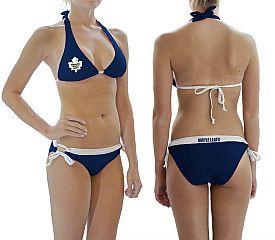 Calhoun Toronto Maple Leafs Women's Logo Bikini - Shop.Canada.NHL.com