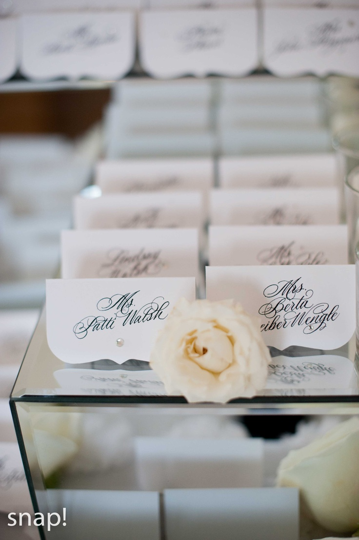 Belle Mer place cards