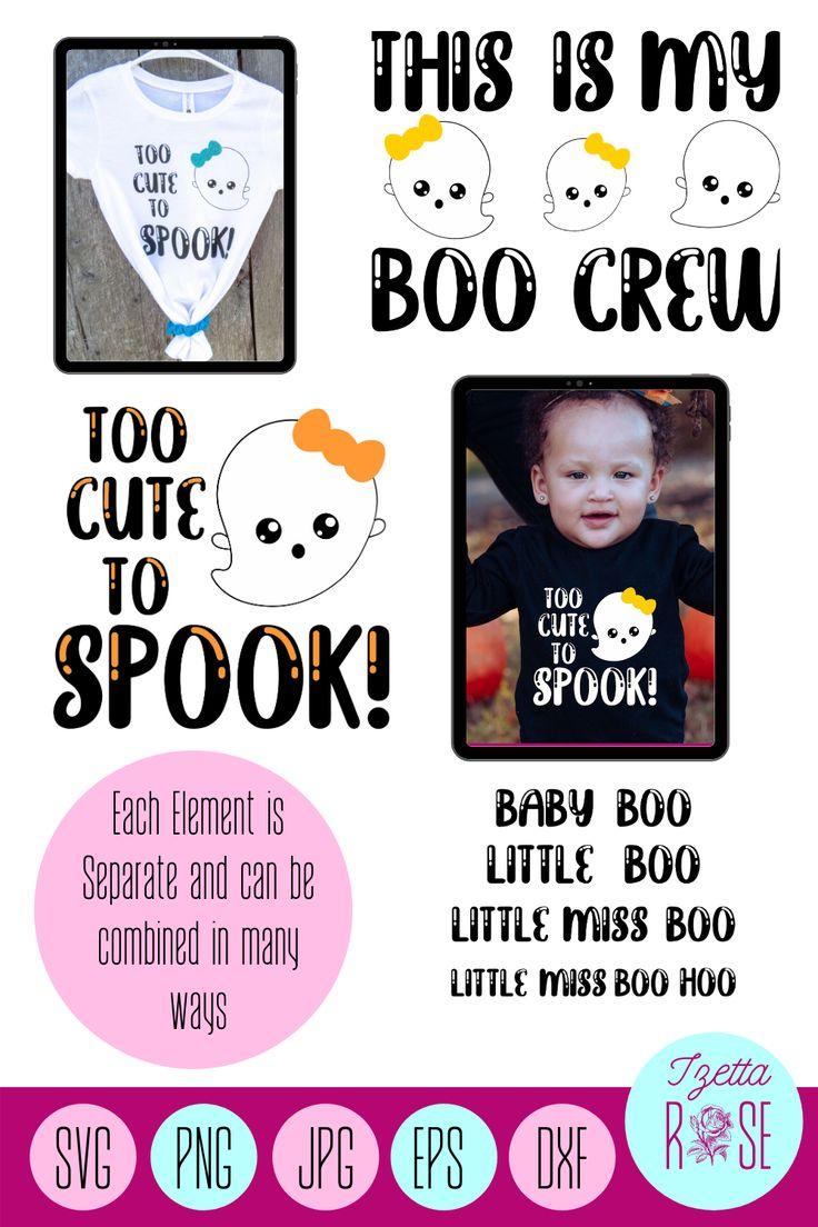 Halloween SVG Mom SVG Baby SVG Halloween svg Bundle Ghost