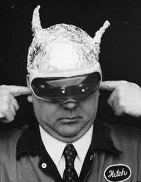 tin foil hat faraday cage - Google Search