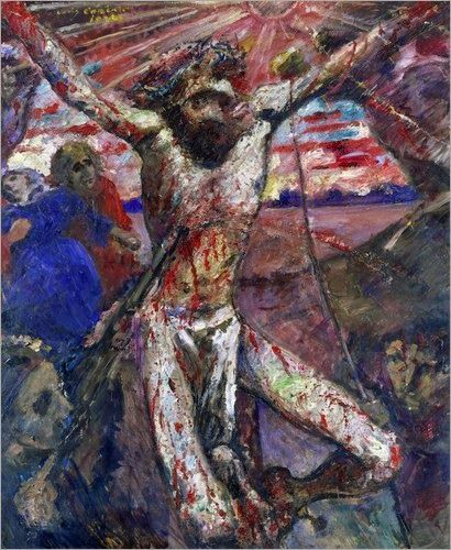 Lovis Corinth, Crucifixión  1920