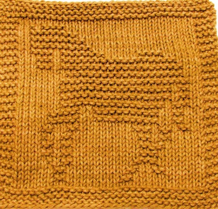 free knit dishcloth patterns - Google Search