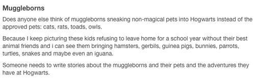 muggleborns at hogwarts tumblr - Google Search