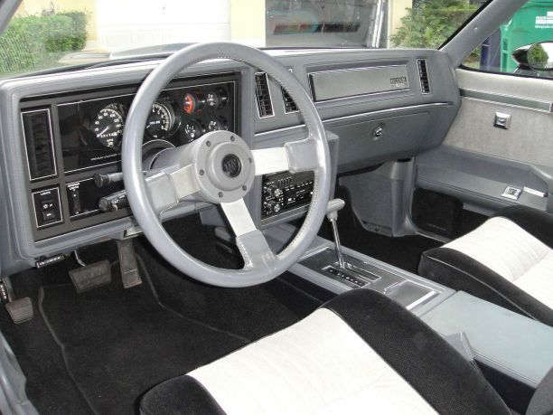 Buick Grand National Interior Muscle Cars 13