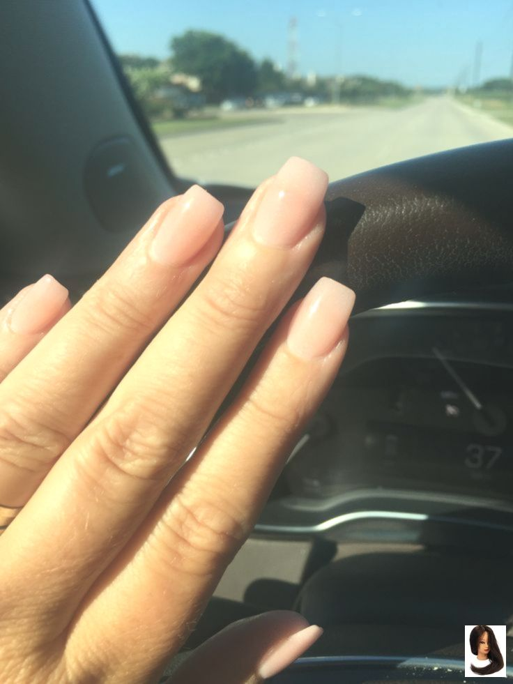The Prettiest Coffin Nails I Have Seen Thus Far Natural Volored Slender They Arent Super Wife Looking Still A Little To Unhas Bonitas Unhas Unhas Compridas