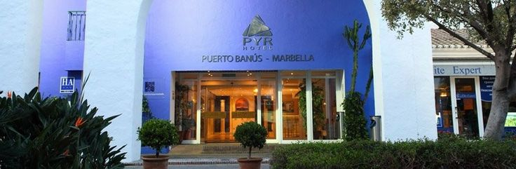 Hotel Pyr Marbella - Great value hotel and a very short walk to all the action at Puerto Banus.