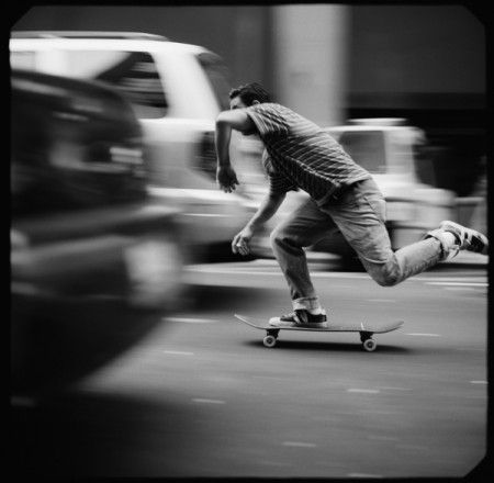 At speed - Larry Clark