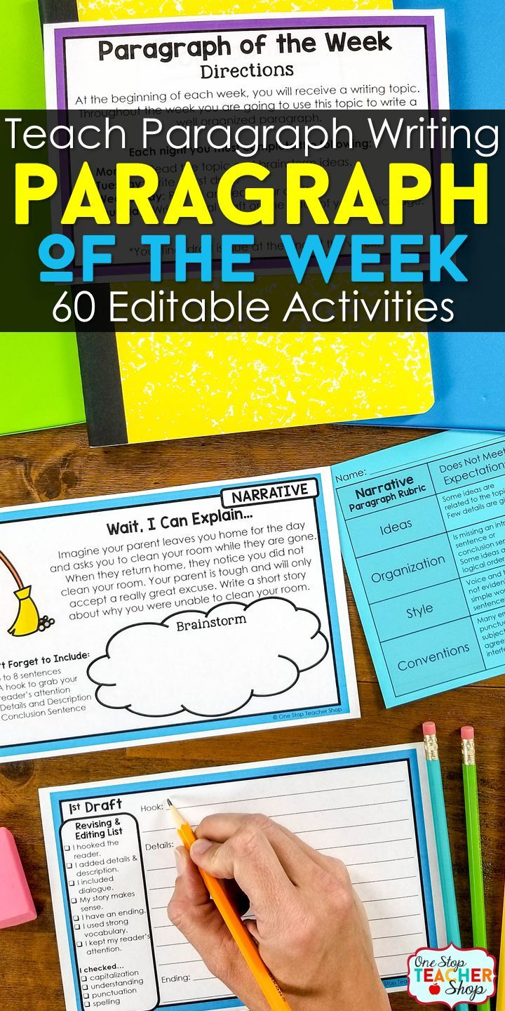 6th grade writing prompts and rubrics