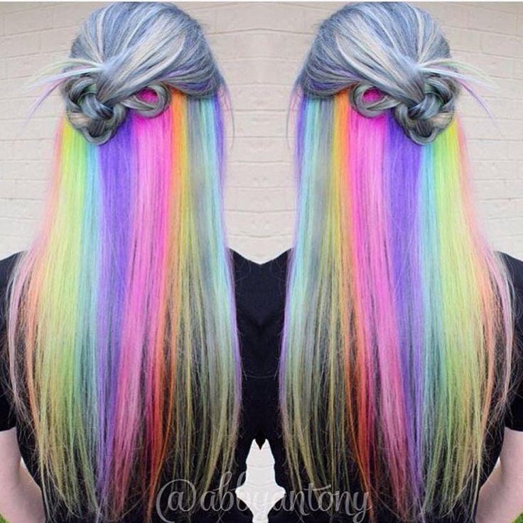 """Underlights sind DIE Lösung für alle, die bunte Haare wollen, aber einen """"seriösen"""" Job haben - Très Click"""