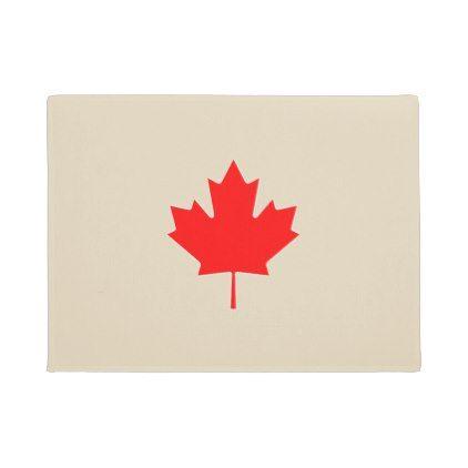 #Canada Maple Leaf Doormat - #doormats #home & #living