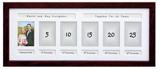временная рамка для фотографий - фото молодоженов через 1, 2, 3 5 и более лет