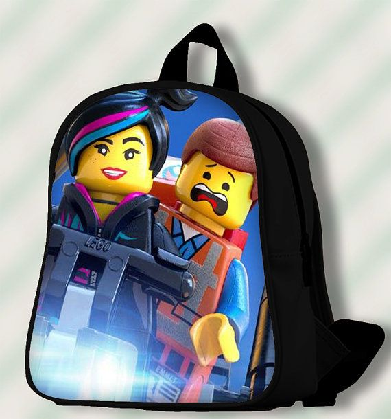 The Lego Movie  Custom SchoolBags/Backpack for by SmileSchoolBags