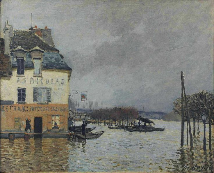 17 best images about alfred sisley on pinterest the - Point p port marly ...