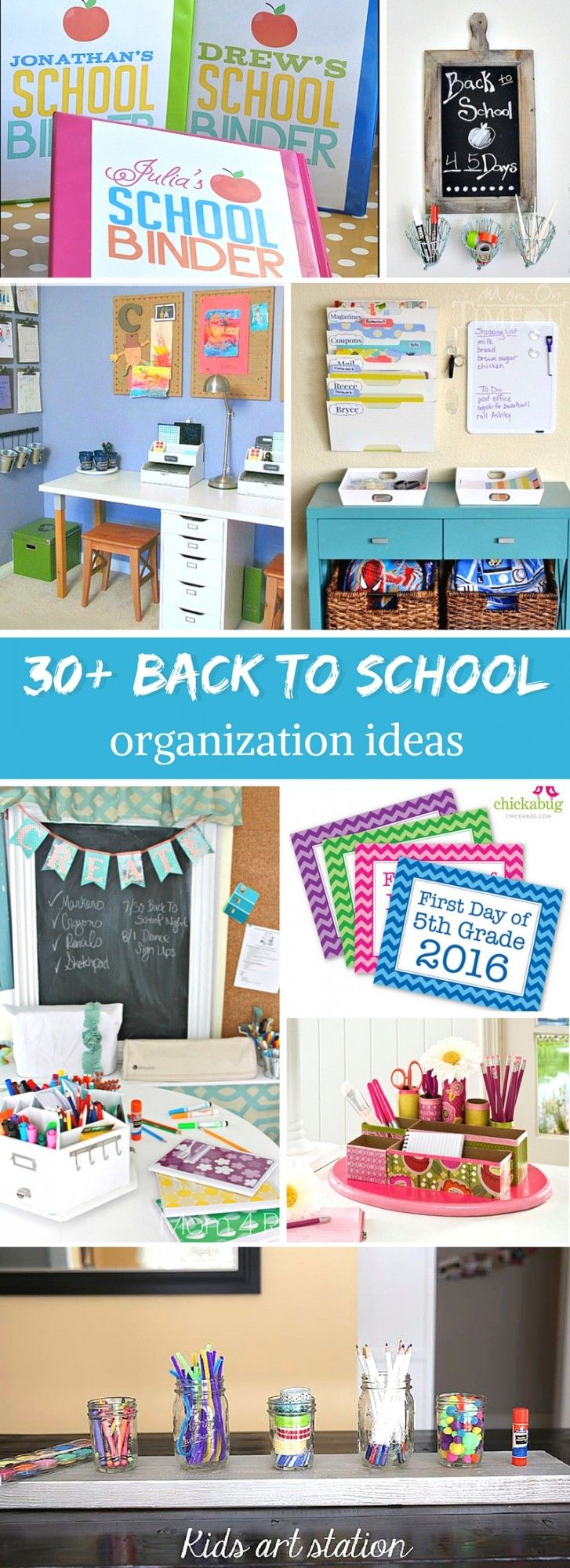 Craftaholics Anonymous® | Back to School Organization Tips
