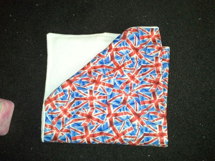 Union Jack Cot Blanket