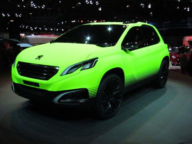 https://flic.kr/p/o4hU9a | Peugeot 2008 Concept | Mondial de l'Automobile Paris 2012