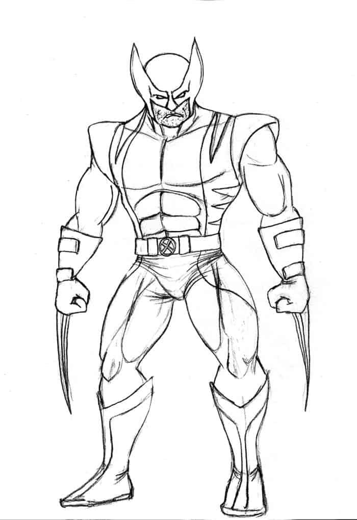 Wolverine Coloring Pages Free In 2020 Superman Coloring Pages Hulk Coloring Pages Superhero Coloring Pages