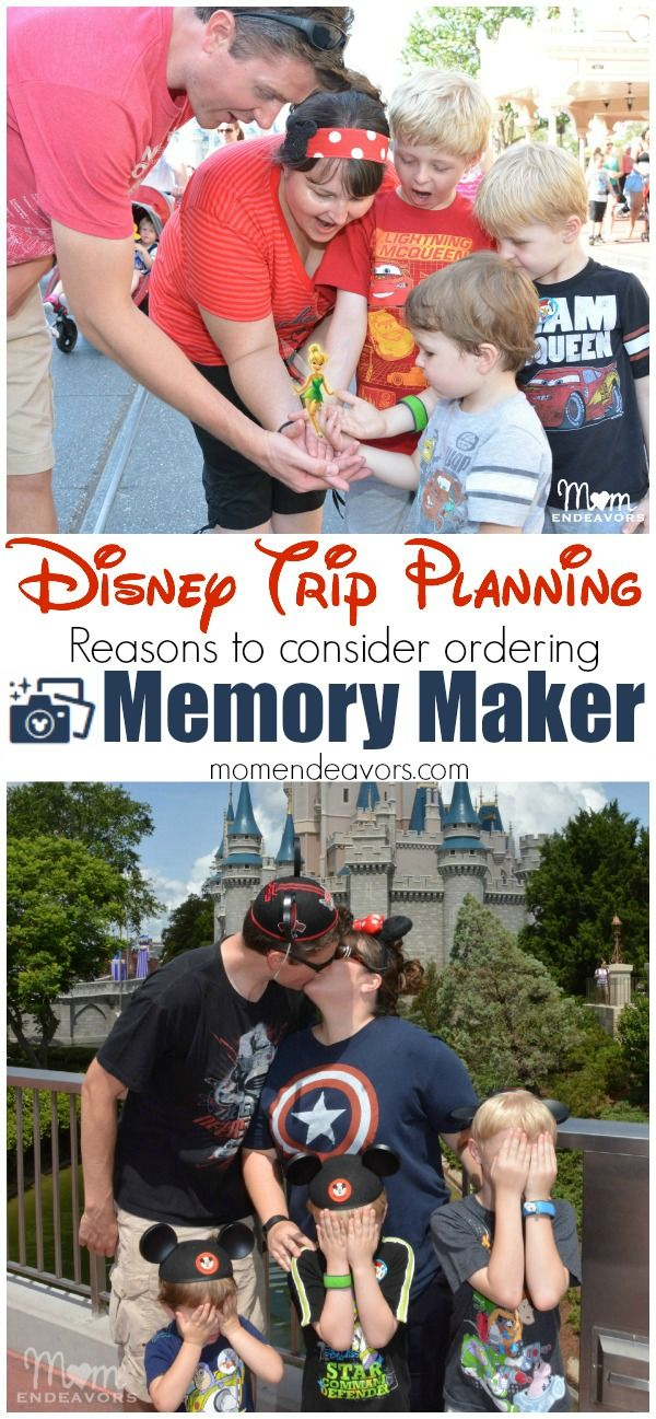 Disney Trip Planning - Reasons to consider ordering the Memory Maker PhotoPass at Walt Disney World.