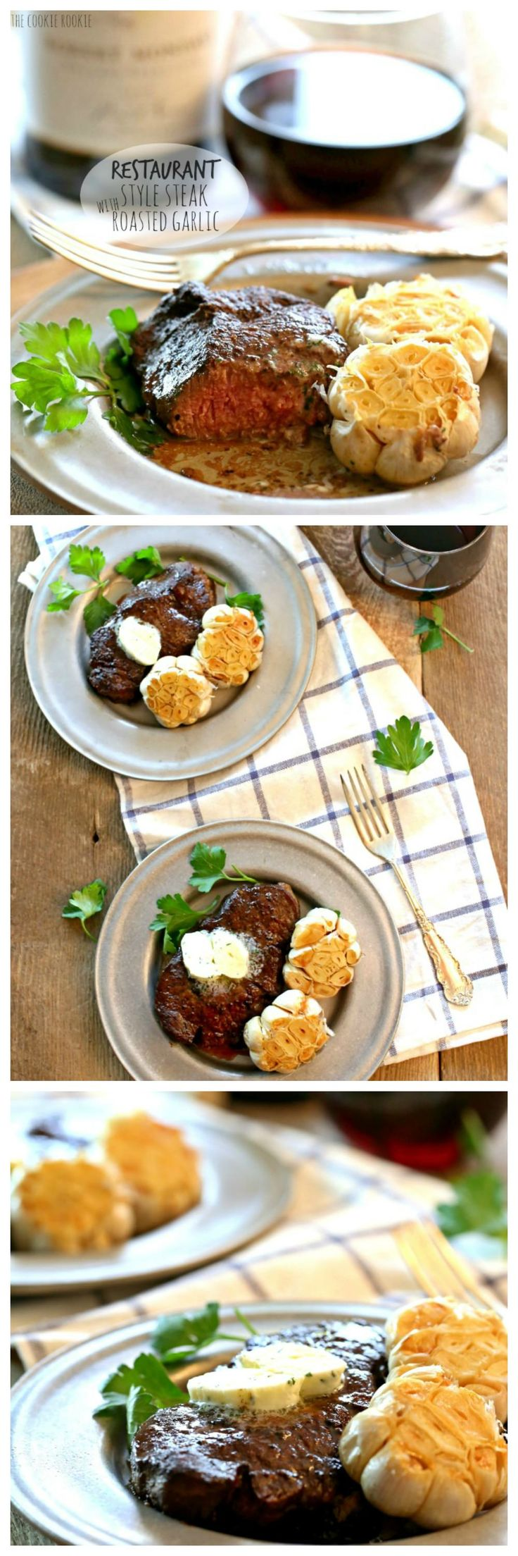Valentine's Day isn't complete without restaurant style steak! You can do this! It isn't...