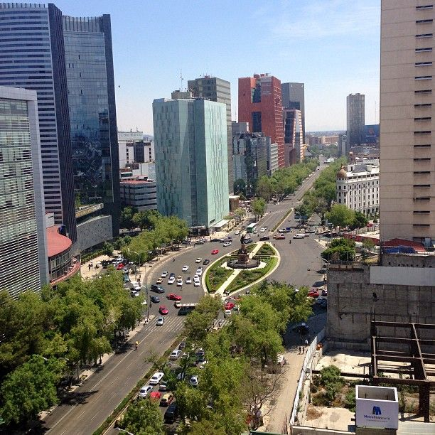 Av. Paseo de la Reforma in Ciudad de México, Federal District