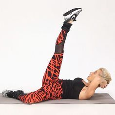 Tracy Anderson demonstrates ab-sculpting exercises that go beyond the basic crunch, helping to target the muscles deep in your abdomen as well as the ones that make up your six-pack. Watch the video to learn them all! | Health.com