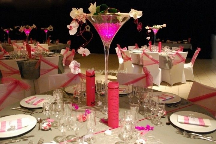 Mariage fuchsia gris blanc de Étoile de Rose | Photo 8