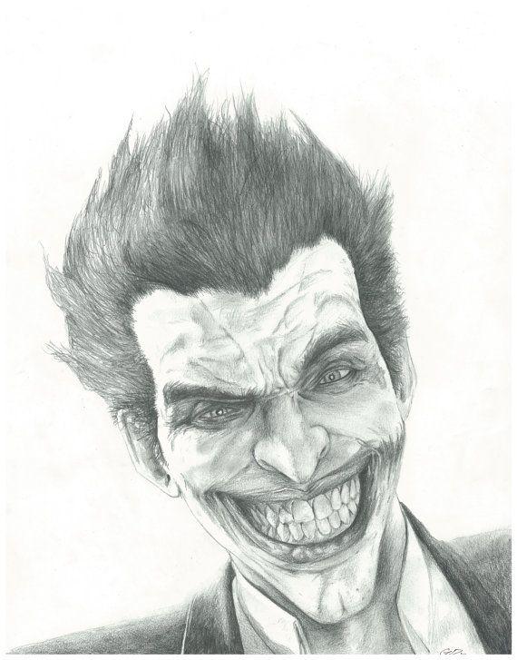 Batman arkham city drawings in pencil