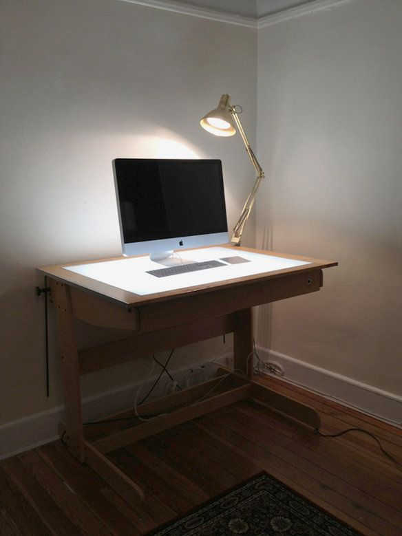 Drafting Light Table/Desk, Hall Productions (krrrb)