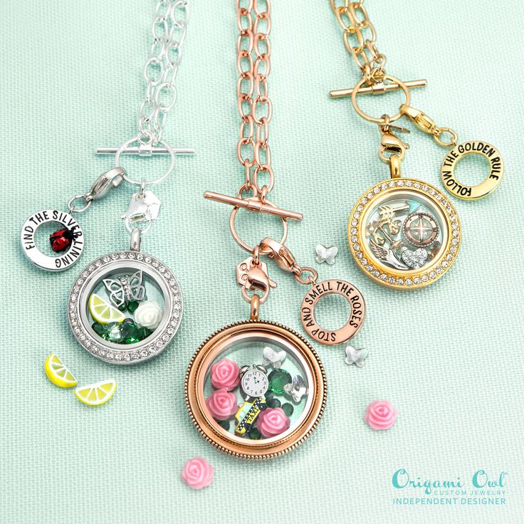 Origami owl spring collection 2016  Shop at www.lauriefranklin.origamiowl.com