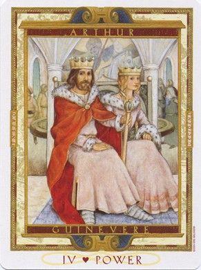 Arthur (Emperor) from the Lover's Path Tarot