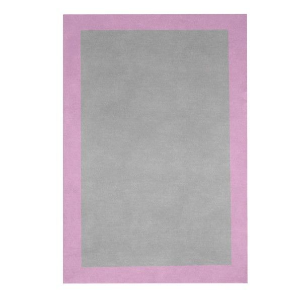 Tapis tapis gris et rose tapis en laine tapis enfant for Tapis ikea usa