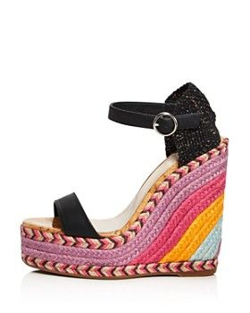 db64fc027 Sophia Webster - Women s Lucita Multicolor Wedge Espadrille Sandals ...