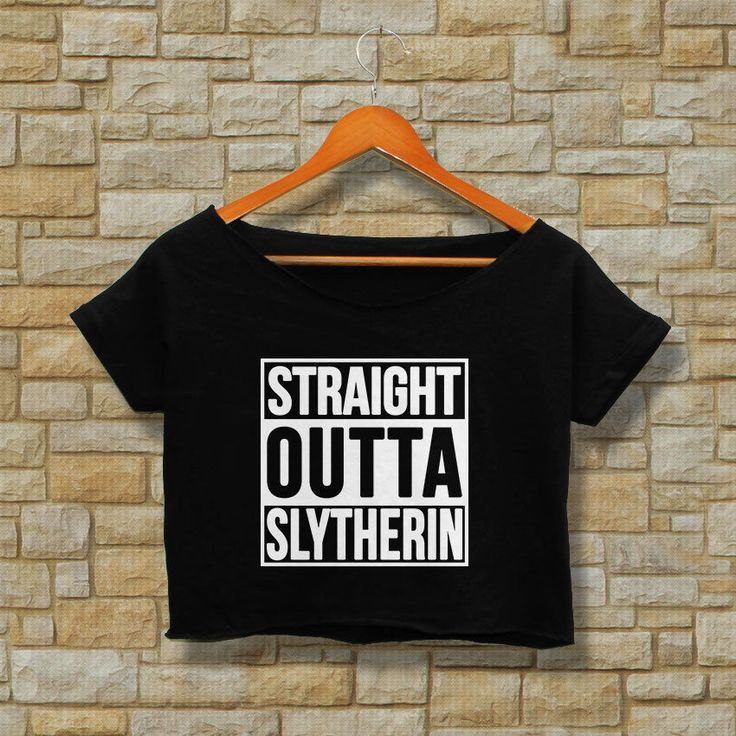 slytherin quidditch shirt harry potter hogwarts t-shirt tee women's girl women #Unbranded #CropTop #Casual