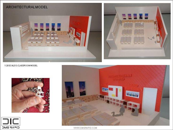 1:20 Scale E-Classroom model