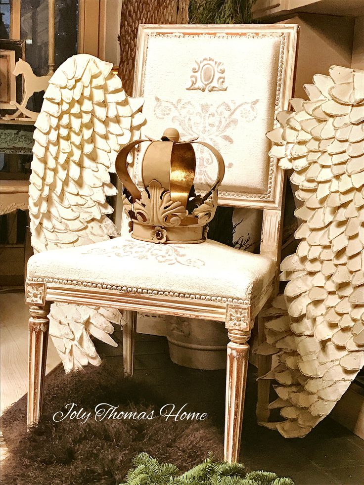 Angel wing chair