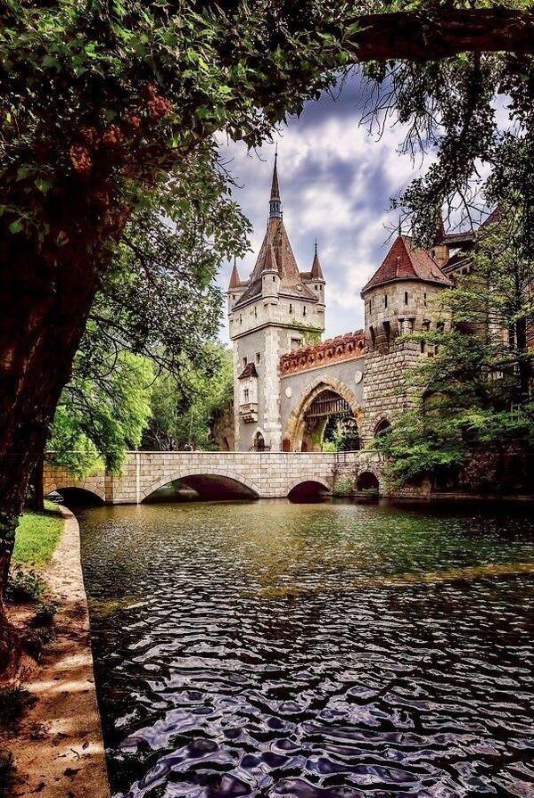 ブダペストのVajdahunyad Castle - ハンガリー