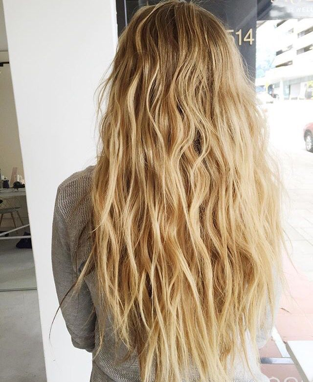 Beach waves and color
