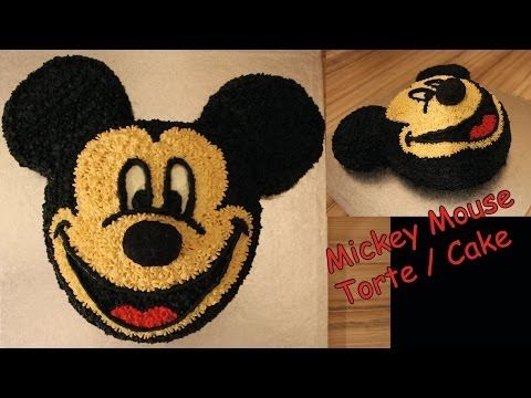 Mickey Mouse Torte / Cake 3D selber machen Anleitung Micky Maus Wunderhaus - YouTube