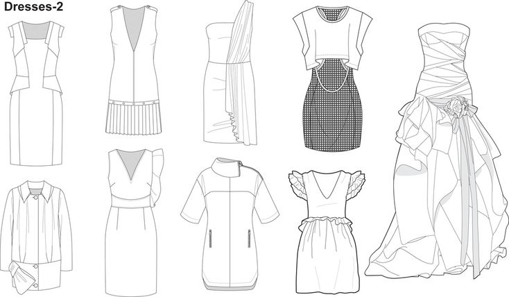 clothing templates for illustrator - 25 b sta id erna om modeteckningar p pinterest