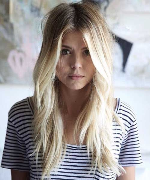 Awesome 1000 Ideas About Blonde Long Layers On Pinterest Long Layered Short Hairstyles For Black Women Fulllsitofus