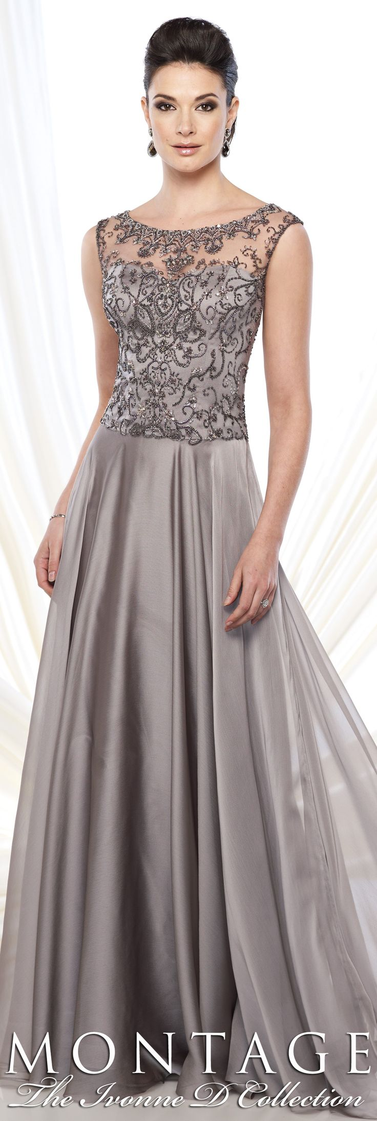 Montage The Ivonne D Collection Fall 2015 - Style No. 215D12 #eveninggowns