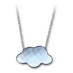 Mini Risette Aquamarine Pendant