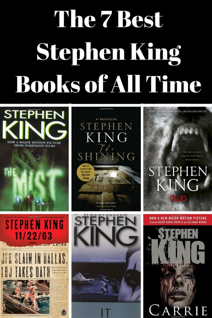 are these the 7 best stephen king books of all time? in 2018 | books