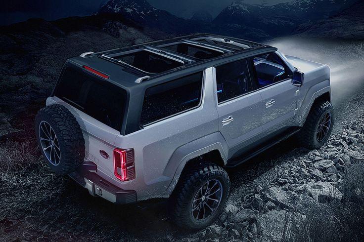 2020 Ford Bronco 4-Door Concept | HiConsumption